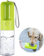 Dog Water Bottle, Outdoor Portable Pet Water Bottle, 15 oz Large Capacity Puppy Water Dispenser for Dog/Cat Ou