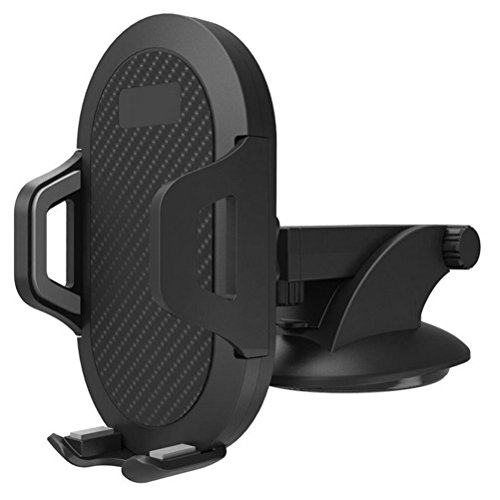 DayCount Car Mount Universal Air Vent Cell Phone Holder 360 Rotating Windshield Suction Cup Phone Holder Stand for Car iPhone X/8/7/7P/6S/6P/5S Samsung Galaxy S5/S6/S7/S8 Android GPS Devices