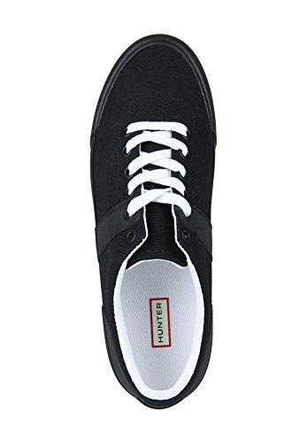 Jeger Kvinners Originale Sneaker Lo - Lerret Svart / Hvit