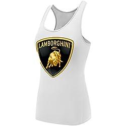 Sysuer Lady Auto Car Lamborghini Base Layer Dry Fit Training Tank Top
