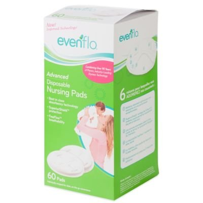 Evenflo Feeding Advanced 60-count Disposable Nursing Pads ()