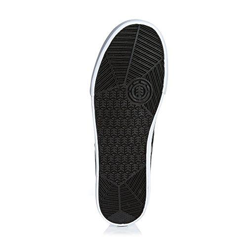 ELEMENT - Zapatillas de skateboarding de Lona para hombre BLACK WASHED