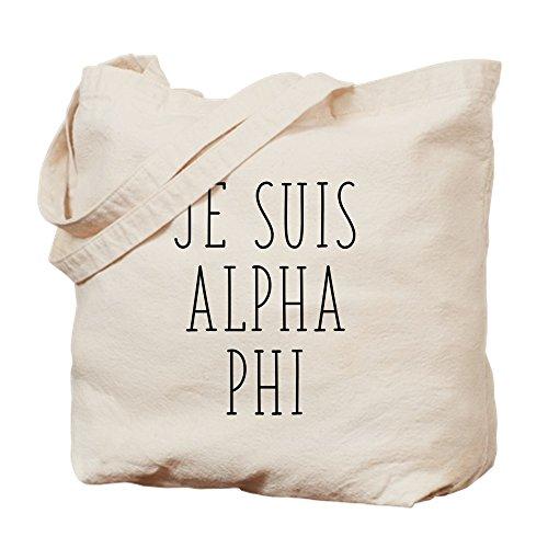 Phi Taille Je Cafepress tout Alpha M Toile Sac Kaki Suis Fourre tw161fZq