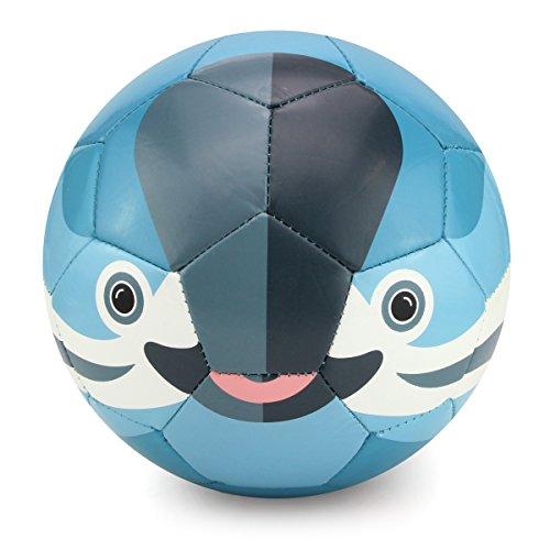 Jefferson Ball - Daball Kid Soft Soccer Ball (Jefferson The Vaquita Porpoise)