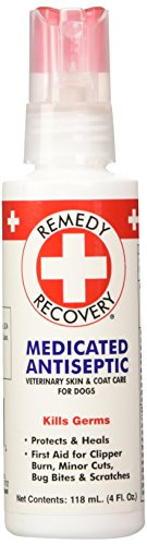 Remedy + Recovery Medicated Antiseptic Spray for Dogs, 4-Ounce