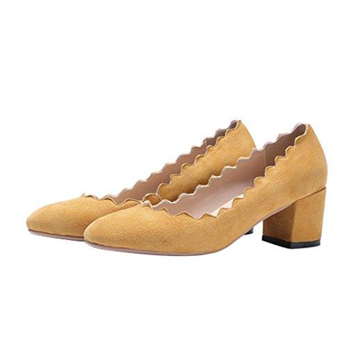 Jushee - Zapatillas Bajas mujer amarillo