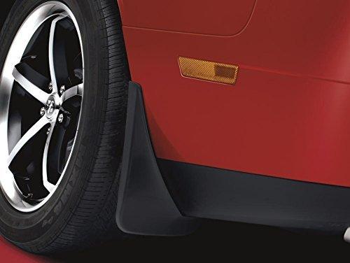 NEW 2015 Dodge Challenger Deluxe Molded Splash Guards, Set of 4, OEM Mopar ()