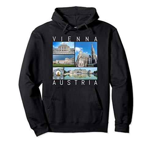 Vienna Austria Hoodie Famous Sights Gallery Souvenir