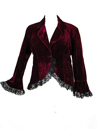 Velvet Trim Jacket - 9