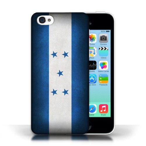 iCHOOSE Print Motif Coque de protection Case / Plastique manchon de telephone Coque pour Apple iPhone 5C / Collection Drapeau / Honduras