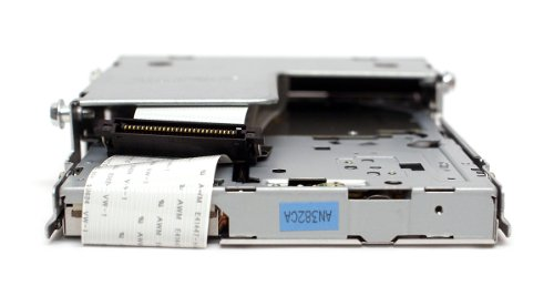 Genuine Dell UT835 Slim Black IDE Internal 1.44M Floppy Drive + Ribbon Cable For Use With Optiplex 745, 755, 760, 780, GX520, GX620, Compatible Dell Part Numbers: 134-508053-382-0, FD-05HG,MPF820, FD3238T by Dell (Image #3)