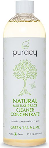 Puracy Natural Multi-Surface Cleaner Concentrate - The BEST Streak-Free All