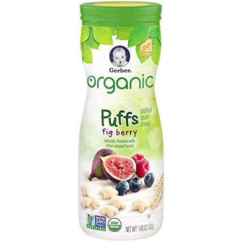 Silver Fig (Gerber Graduates Organic Puffs, Fig Berry, 1.48 oz)