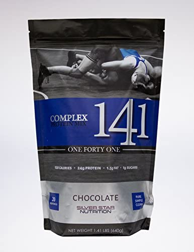 Silver Star Nutrition 141 Complex Protein Mix Chocolate, 1.41 Pounds