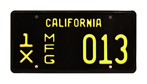 Celebrity Machines GT 350 | Shelby Cobra Mustang | 1X MFG 013 | Metal Stamped Vanity License Plate