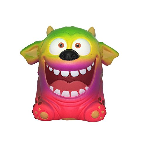 (Slow Rising Toy Yamally 14cm Jumbo Novelty Monster Squishies Soft Squishy Scary Doll Kawaii Creamy Scented Stress Relief Squeeze Toy Exquisite Fun Gift Hot Sale)