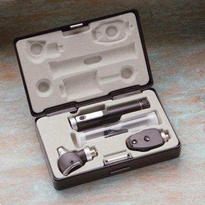 ADC Diagnostix Pocket Otoscope & Opthalmoscope Set, Economy w/ 1 Handle, Latex Free