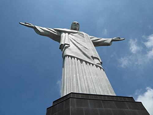 - Home Comforts Rio Christo Statue Rio De Janeiro Cristo Redentor Vivid Imagery Laminated Poster Print 24 x 36