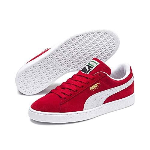 Daim Pumas Haut Risque Classique Herren Blanc Sneaker Rouge rCwqPrzB