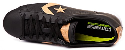 Converse Pro Leather Tumbled Leather Herren Sneaker Schwarz, 44.5