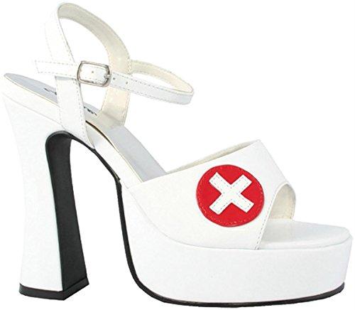Ellie Shoes - Nurse White Sexy Shoes - 9