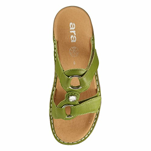 ARA SANDALO SABOT STRETCH green 40