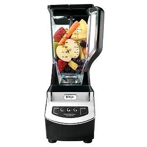 Euro Pro Ninja NJ600 1000 Watt Professional Food Fruit Blender Processor