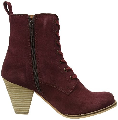 Donna Boots A Rosso Browns Joe Cute And Quirky wine Boots Suede Riding UWAWH8xqXw