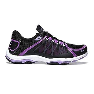 RYKA Women's influence2.5 Cross-Trainer Shoe, Black/Purple, 8.5 M US
