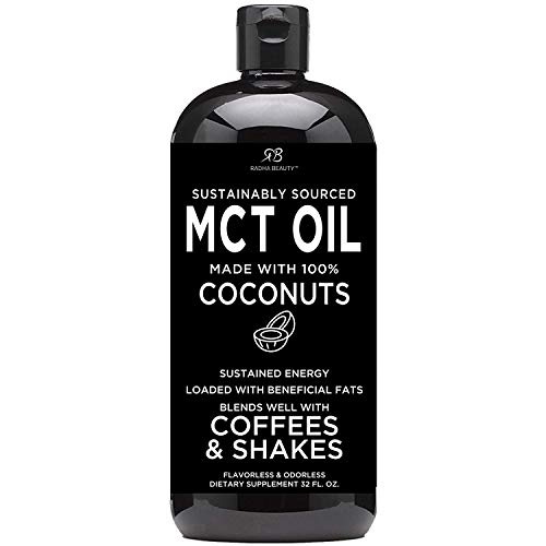 Radha MCT Oil made only from Organic & Sustainable Coconuts