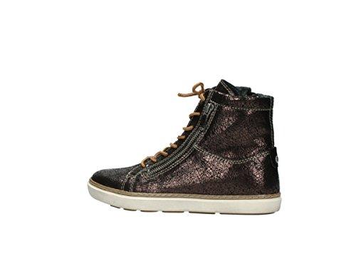 Wolky Comfort Sneakers Ontario 90300 Bruin Craquelé Leer