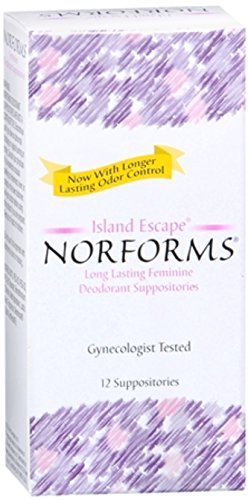 Norforms Suppositories Island Escape 12 Each (Pack of 10)