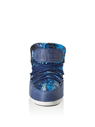 Moon Boot - Zapatos de cordones para mujer Azul