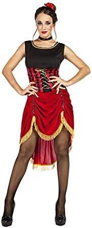 Disfraz de Can Can Madcap para Mujer: Amazon.es: Juguetes y juegos