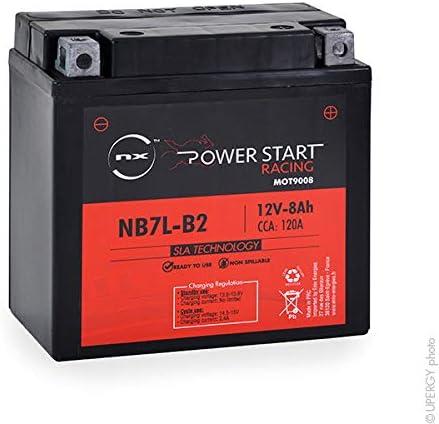 Motorrad Batterie YB7L-B2 12N7-3B NX NB7L-B2 12N7D-3B 12V 8Ah