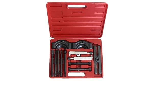 51-Pc Set Bush Bearing Driver Set Remover Installer Removal Built Hand Tool Kit Universal for Car Repairing Meeds
