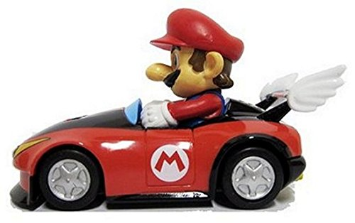 Nintendo Mario Kart Wii Pull-Back Car Mini Figure - 3