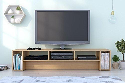 Nexera 110005 Rustik 72-inch, Natural Maple TV Stand