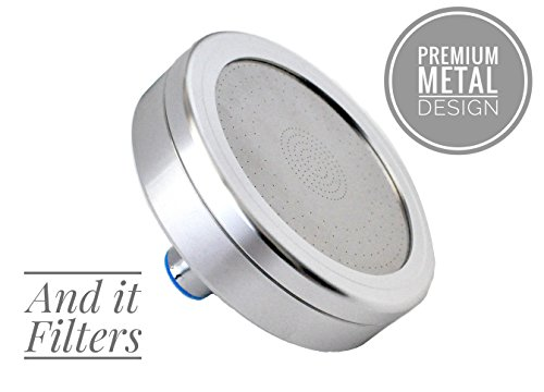 Barclays Buys: Filtered Shower Head: All Metal: Reduces Chlorine and Dissolved Solids: Enhanced Pressure: Helps Dry Hair and Itchy Skin: Oversized Rain Shower (Wall-Mount Only)