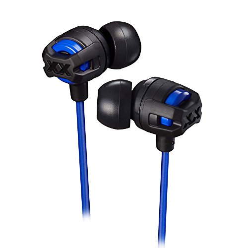 Xtreme Xplosives Series Headphone with remote and Mic Blue (HAFX103A) - HAFX103MA (Jvc Xtreme Xplosives Xx Ha Mr60x Headset)