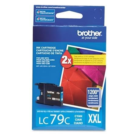 BRTLC79C - Brother Innobella LC79C High Yield Ink Cartridge