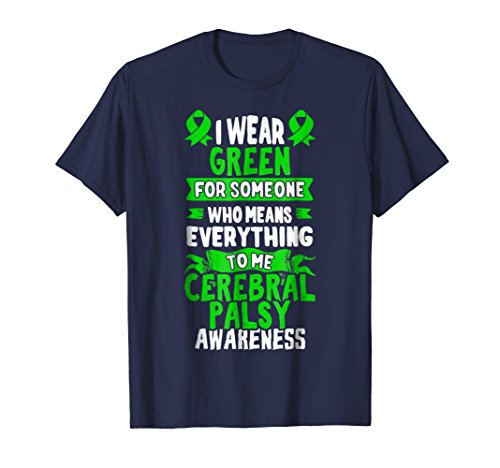 Cerebral Palsy Awareness T Shirt - Brain Damage Gift