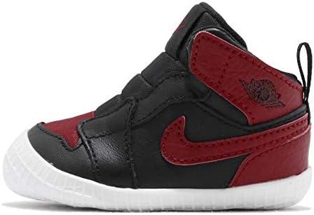 ジョーダン 1 CRIB ブーティー キッズ バスケットボール シューズ Jordan 1 CRIB Bootie AT3745-023 [並行輸入品]