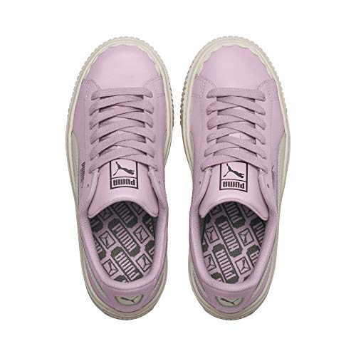 40 Lilla 366723 Lilla Wn's Platform Scallop Sneakers 02 Basket Puma Bianco gn0qzAXxT