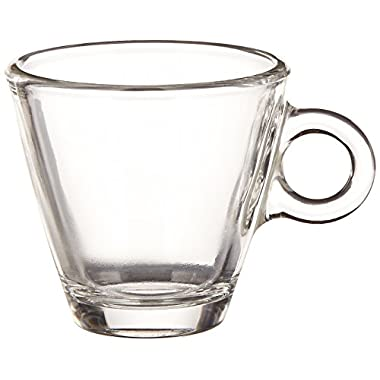Bormioli Rocco Easy Bar Espresso Cups, Clear, Set of 12