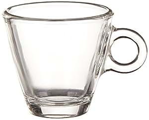 Bormioli Rocco Easy Bar 3.5 oz. Espresso Cups, Clear, Set of 12