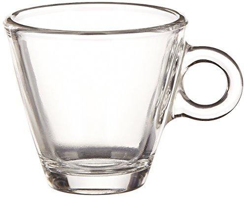 Bormioli Rocco Easy Bar 3.5 oz. Espresso Cups, Clear, Set of - Espresso Rocco Bormioli Cups