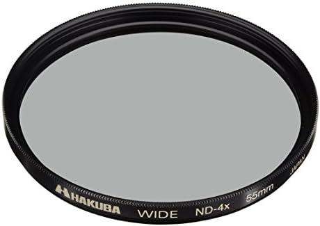 Hakuba 55mm ND Filter Wide ND dimming 4 /× Made in Japan CF-WND455