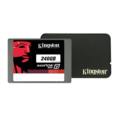 Kingston Digital Inc. 240 GB Notebook Bundle Kit with Adapter Solid State Drive ()