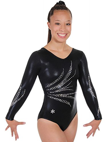 6c6f3f8afed3 Amazon.com   Snowflake Designs Bliss Competition Leotard   Sports ...